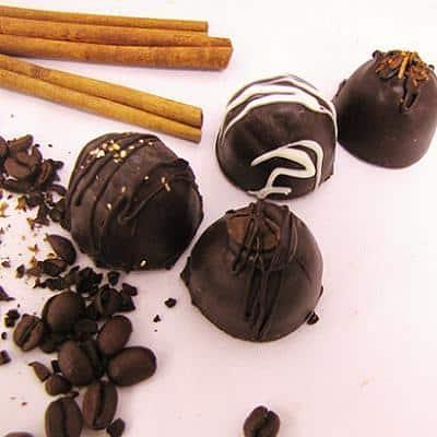 coffeehouse chocolate truffels